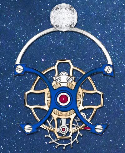 Cận cảnh siêu phẩm đồng hồ thu nhỏ cả cuộc du hành đầu tiên của loài người trên cổ tay, chỉ có 12 phiên bản trên toàn thế giới - Ảnh 2.