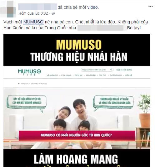 Đại diện Mumuso lên tiếng sau khi truyền thông Hàn nghi ngờ thương hiệu này đang lừa dối người tiêu dùng Việt - Ảnh 2.
