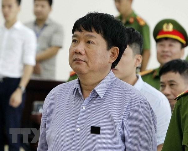 [Photo] Tòa án Hà Nội xét xử phúc thẩm bị cáo Đinh La Thăng - Ảnh 3.