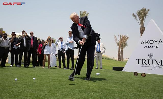 """Tổng thống Donald Trump tự tin là """"tay golf giỏi nhất trong giới siêu giàu"""": Hãy để golf truyền cảm hứng, tạo động lực để thành công - Ảnh 2."""