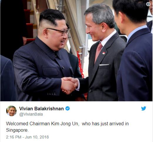 Ông Kim Jong Un gặp mặt Thủ tướng Singapore Lý Hiển Long - Ảnh 2.