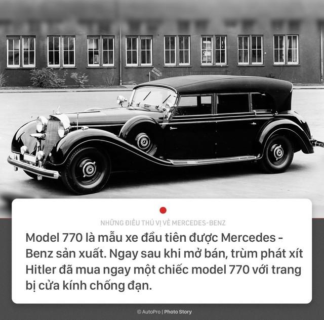[Photo Story] 10 điều thú vị về Mercedes-Benz: trùm phát xít Hitler là một trong những khách hàng đầu tiên - Ảnh 3.