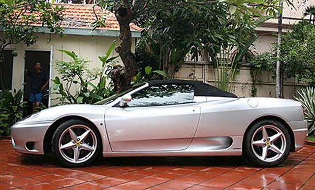 """Hàng hiếm Ferrari F360 Spider """"hồi sinh"""" dưới bàn tay dân chơi siêu xe Sài Gòn - Ảnh 3."""