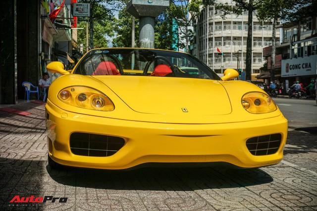 """Hàng hiếm Ferrari F360 Spider """"hồi sinh"""" dưới bàn tay dân chơi siêu xe Sài Gòn - Ảnh 4."""