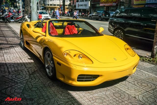 """Hàng hiếm Ferrari F360 Spider """"hồi sinh"""" dưới bàn tay dân chơi siêu xe Sài Gòn - Ảnh 5."""