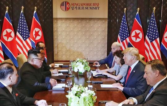 Tiết lộ về người phụ nữ duy nhất tại phòng họp Mỹ - Triều - Ảnh 1.