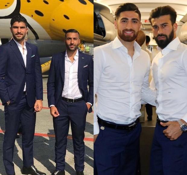 Dàn tuyển thủ Iran như người mẫu này đang gây sốt ở World Cup 2018 - Ảnh 2.