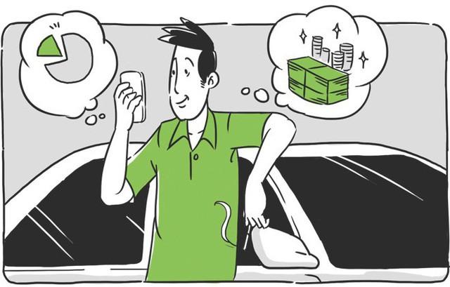 [Chuyện nghề] Nhân viên văn phòng bỏ việc đi lái Grab, tháng kiếm 35 triệu đồng, bán sức thanh xuân 5 năm mong đủ vốn để kinh doanh riêng - Ảnh 2.