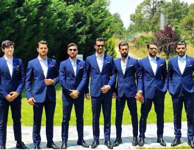 Dàn tuyển thủ Iran như người mẫu này đang gây sốt ở World Cup 2018 - Ảnh 3.