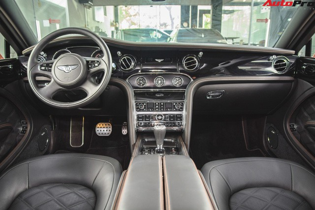Chiêm ngưỡng Bentley Mulsanne Speed màu cam độc nhất vô nhị tại Việt Nam - Ảnh 8.