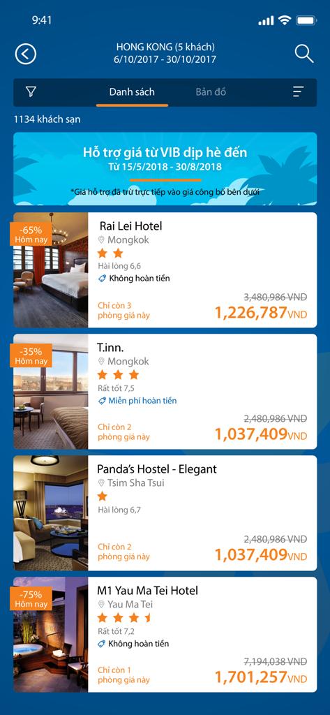 Cơ hội du lịch miễn phí khi đặt phòng, mua vé máy bay qua MyVIB - Ảnh 3.