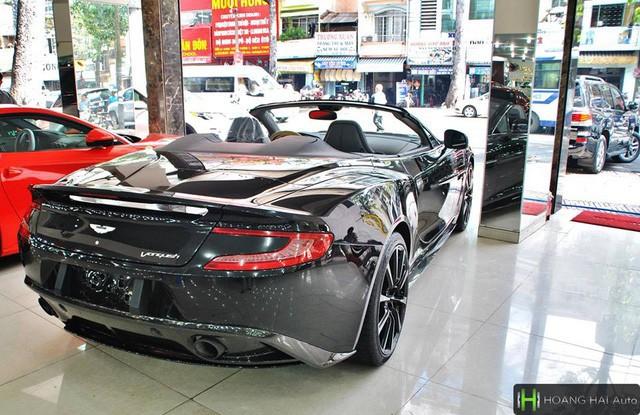 Trước hành trình siêu xe, ông chủ cafe Trung Nguyên tậu thêm Aston Martin Vanquish Volante duy nhất tại Việt Nam - Ảnh 4.