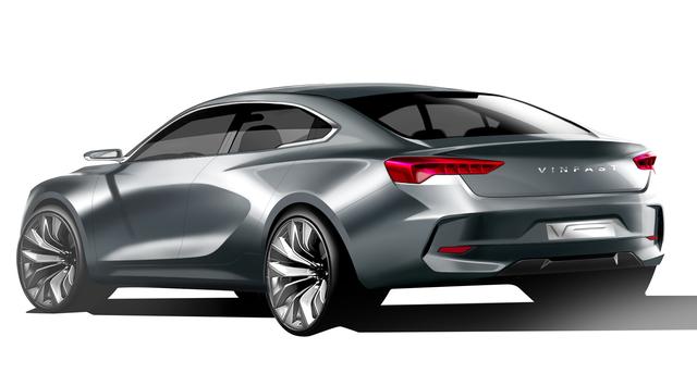 Lộ diện hình ảnh thực tế đầu tiên của xe hơi Vinfast? - Ảnh 4.