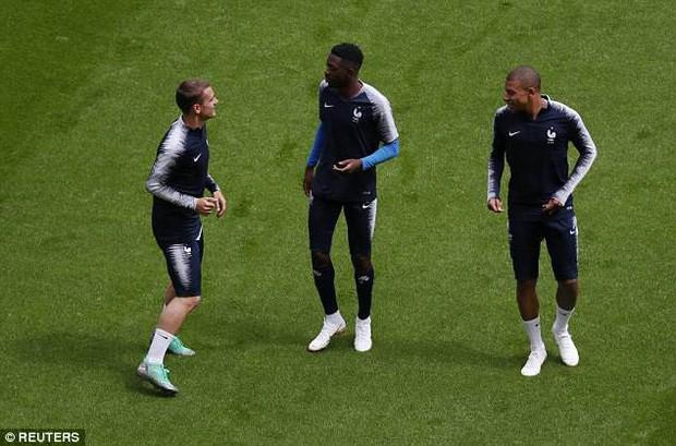 Đội hình tiền tỷ của Pháp khởi động cho trận đấu khai màn World Cup 2018 - Ảnh 4.