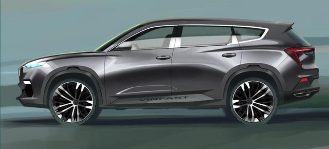 Lộ diện hình ảnh thực tế đầu tiên của xe hơi Vinfast? - Ảnh 9.