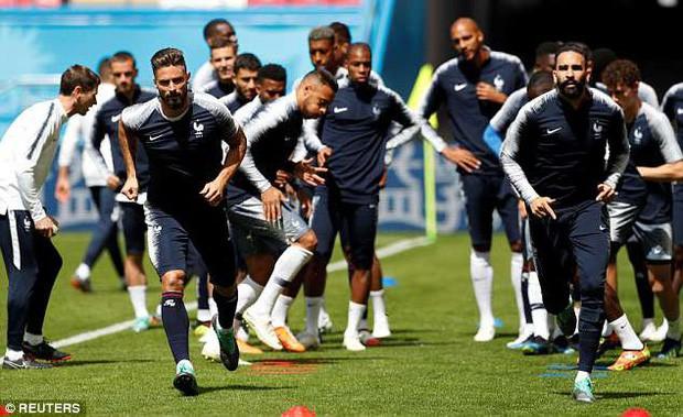 Đội hình tiền tỷ của Pháp khởi động cho trận đấu khai màn World Cup 2018 - Ảnh 9.