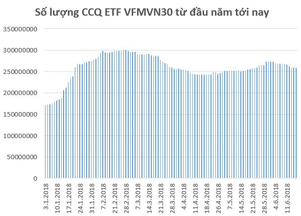 Thị trường hồi phục, quỹ ETF nội VFMVN30 bị rút ròng 15 triệu chứng chỉ quỹ trong nửa đầu tháng 6 - Ảnh 1.