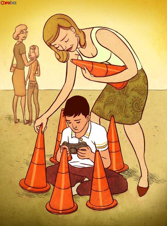 """""""Cha đã không còn là cha của con nữa, ông ấy là cha của chiếc điện thoại"""": Cha mẹ càng nghèo càng thích nghịch điện thoại - Ảnh 2."""