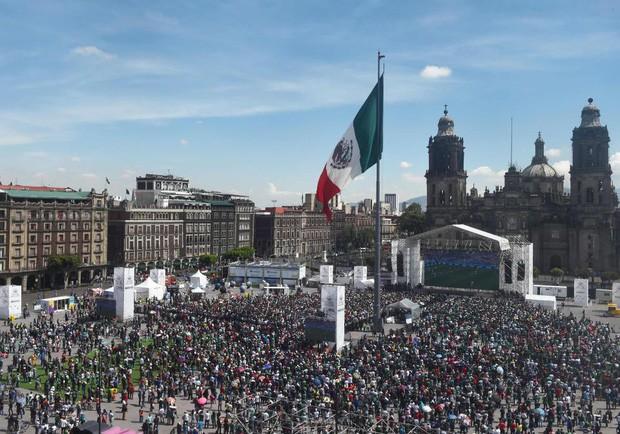 Chuyện lạ World Cup: Động đất xảy ra ở Mexico chỉ vì fan nhảy lên ăn mừng bàn vào lưới tuyển Đức - Ảnh 2.