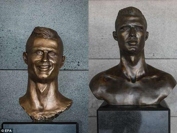 Lao ra khỏi chiếc xe buýt, Ronaldo thực hiện một cử chỉ làm đốn tim hàng triệu CĐV - Ảnh 4.