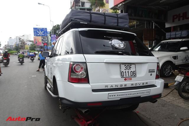 Bộ 3 Range Rover Sport Supercharged của ông chủ Trung Nguyên được chăm sóc trước hành trình siêu xe đình đám - Ảnh 5.