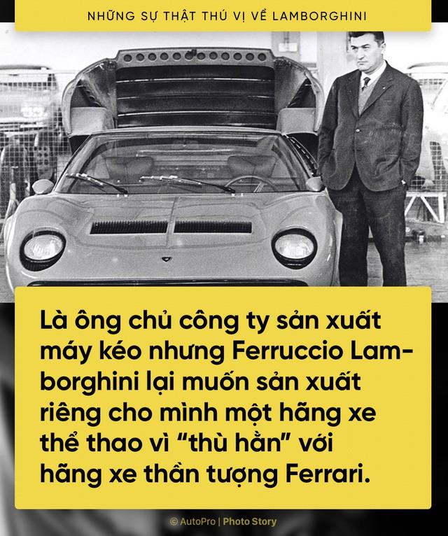 [Photo Story] 10 điểm thú vị ai cũng cần biết về Lamborghini - Ảnh 3.