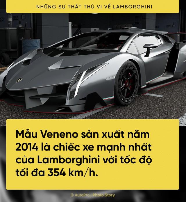 [Photo Story] 10 điểm thú vị ai cũng cần biết về Lamborghini - Ảnh 5.