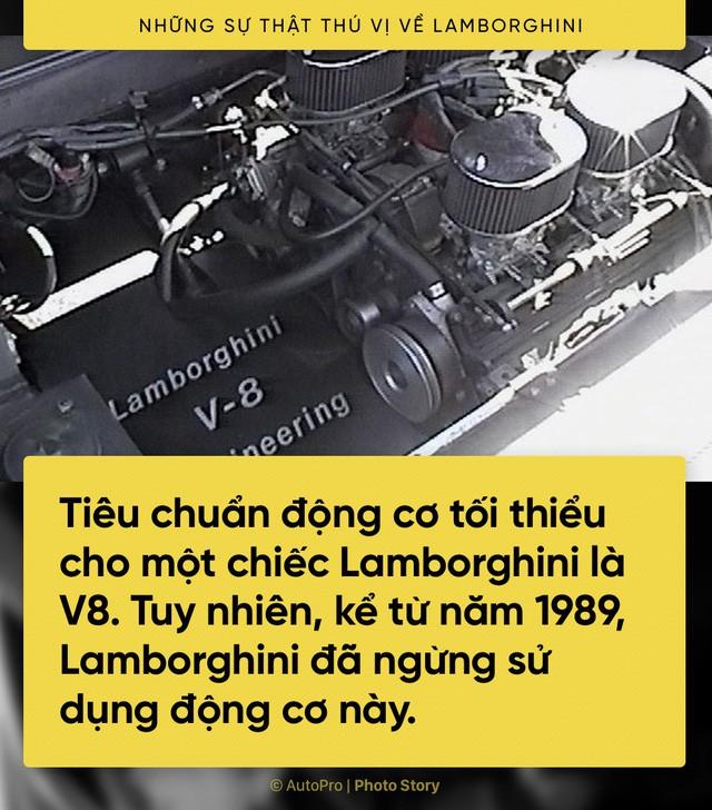 [Photo Story] 10 điểm thú vị ai cũng cần biết về Lamborghini - Ảnh 6.