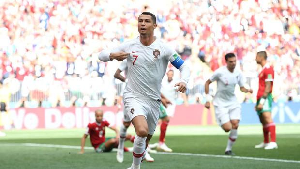 Ronaldo phá thêm một kỷ lục sau bàn thắng vào lưới Morocco - Ảnh 1.