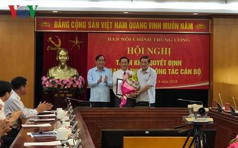 Ông Nguyễn Thái Học giữ chức Phó Trưởng Ban Nội chính Trung ương - Ảnh 1.