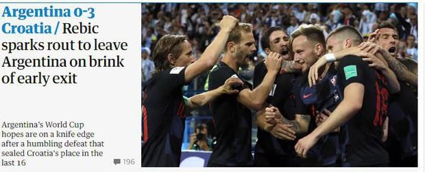 Truyền thông thế giới sốc: Messi và Argentina bên bờ vực thẳm - Ảnh 3.