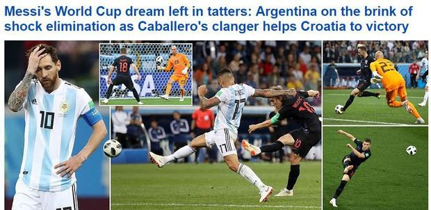 Truyền thông thế giới sốc: Messi và Argentina bên bờ vực thẳm - Ảnh 4.