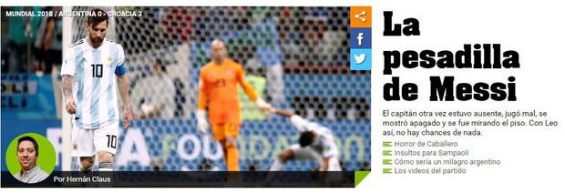 Truyền thông thế giới sốc: Messi và Argentina bên bờ vực thẳm - Ảnh 5.