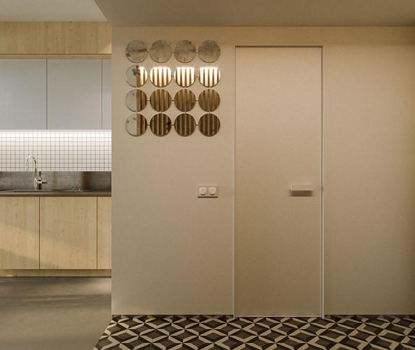 Căn hộ 23 m2 kiến trúc theo phong một vàih tối giản - Ảnh 6.