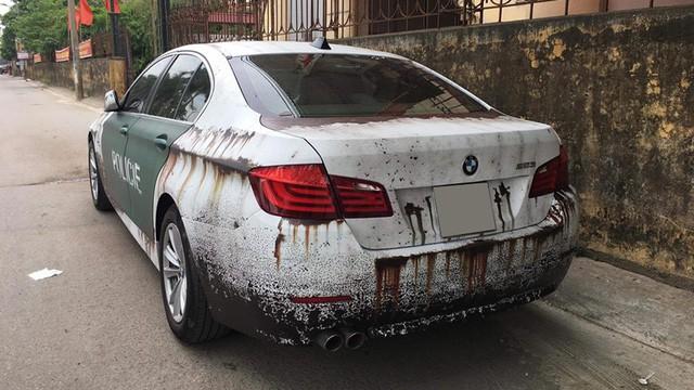 Bộ đôi xe sang tiền tỷ BMW và Audi phong cách gỉ sét của dân chơi Việt khiến không ít người xót xa - Ảnh 1.