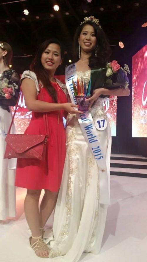 Câu chuyện của một cô gái xinh đẹp không thể nghe, nói và hành trình đến vương miện Á hậu cuộc thi sắc đẹp toàn cầu - Ảnh 5.
