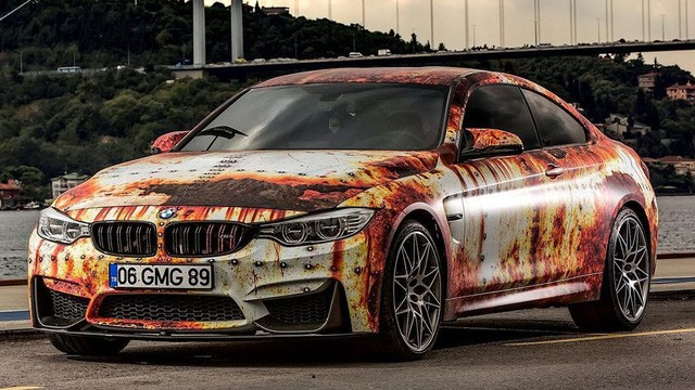 Bộ đôi xe sang tiền tỷ BMW và Audi phong cách gỉ sét của dân chơi Việt khiến không ít người xót xa - Ảnh 4.