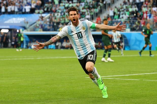 50 sắc thái của Lionel Messi trong trận thắng kịch tính Nigeria - Ảnh 2.