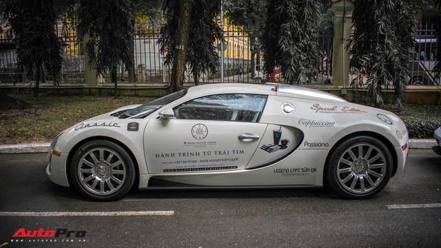 Chỉ riêng chiếc Bugatti Veyron đã ngốn hết ngần này tiền xăng của ông chủ cafe Trung Nguyên - Ảnh 3.