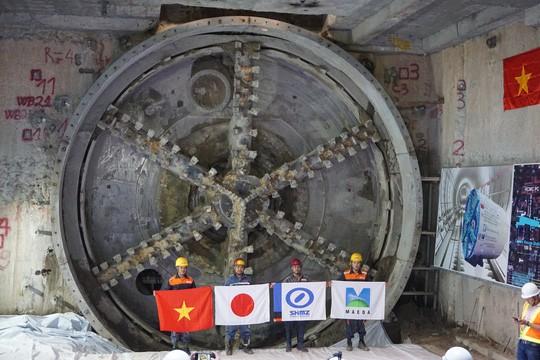 Đường hầm thứ 2 của tuyến metro số 1 đã đi vào hoạt động - Ảnh 1.