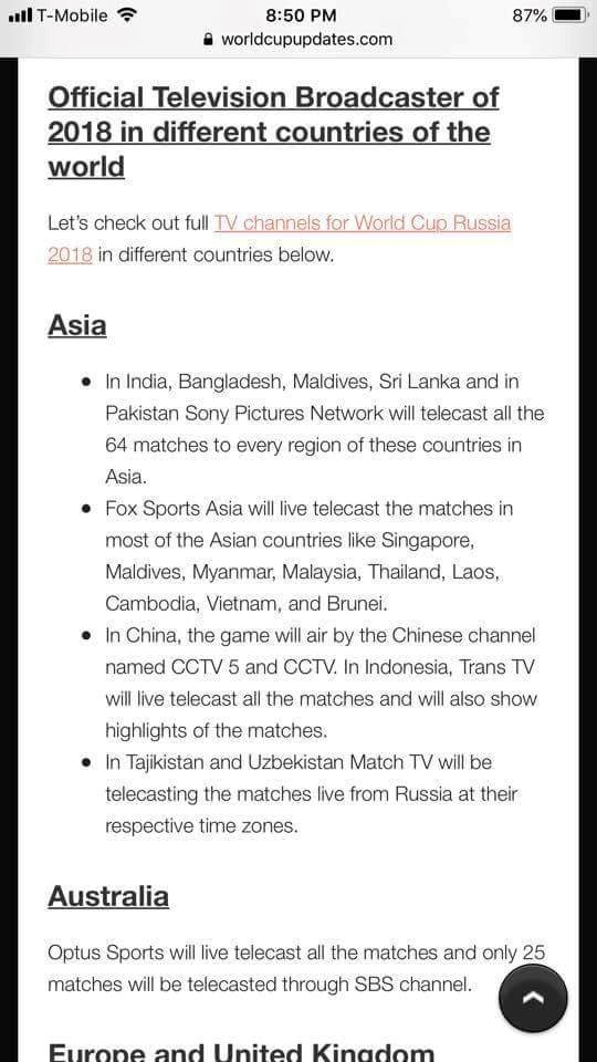 Fox Sportskhông có bản quyền phát sóng World Cup 2018 tại Việt Nam  - Ảnh 1.