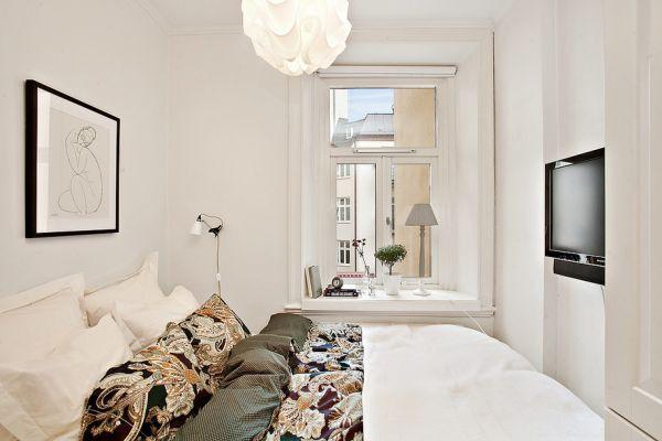 Sống sang chảnh trong căn hộ trắng tinh khôi chỉ 39m2 - Ảnh 6.