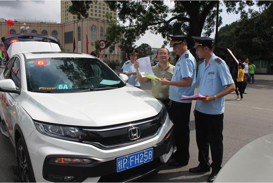 Mỗi ngày có gần 100 lượt xe du lịch tự lái Trung Quốc vào Việt Nam - Ảnh 1.
