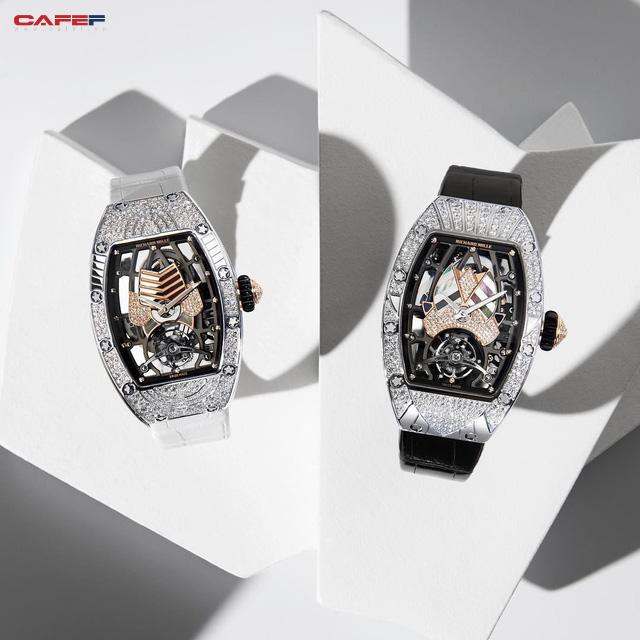 Mẫu đồng hồ tourbillion mới của Richard Mille: Có giá hàng trăm nghìn đô, sản xuất giới hạn và dành riêng cho phái đẹp!  - Ảnh 2.
