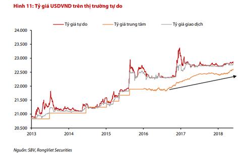 VND có thể mất giá nhiều hơn dự báo vì những rủi ro nào trong 2018? - Ảnh 2.