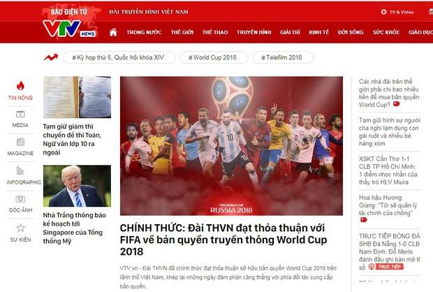 CHÍNH THỨC: VTV công bố sở hữu bản quyền World Cup 2018 - Ảnh 1.
