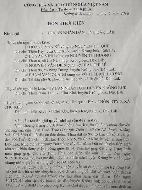 """Đắk Lắk: Ai """"phù phép"""" chỉnh sửa sổ đỏ để người dân mua nhầm đất giá cao? - Ảnh 2."""