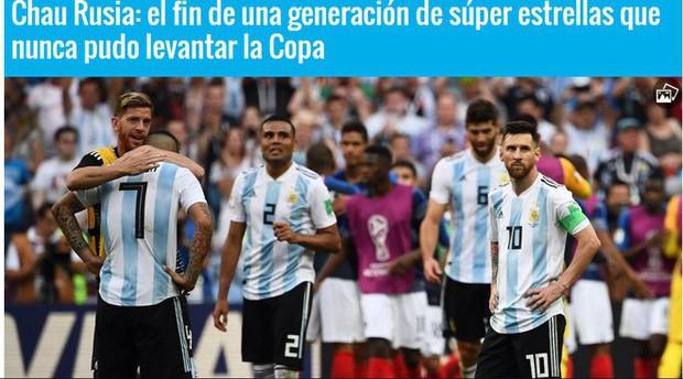 Báo Pháp ngỡ ngàng, truyền thông Argentina chết lặng sau kịch bản điên rồ ở nước Nga - Ảnh 5.