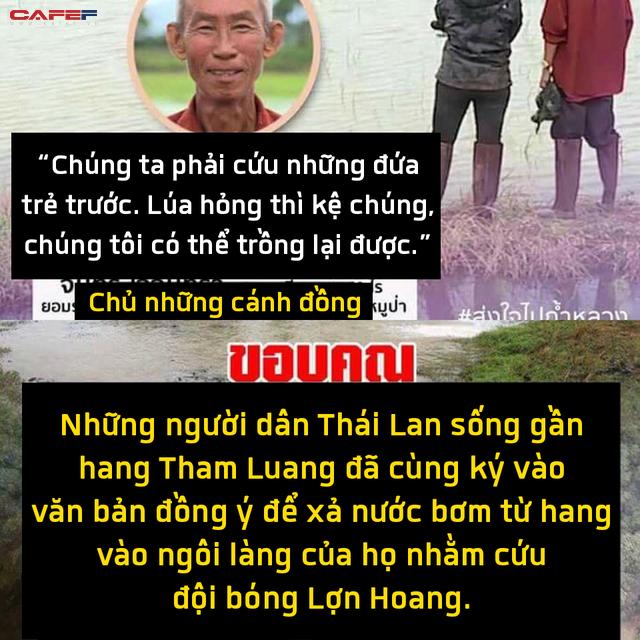 Những người hùng trong chiến dịch giải cứu đội bóng nhí Thái Lan: Lúa hỏng có thể trồng lại được, chúng ta phải cứu những đứa trẻ trước - Ảnh 8.