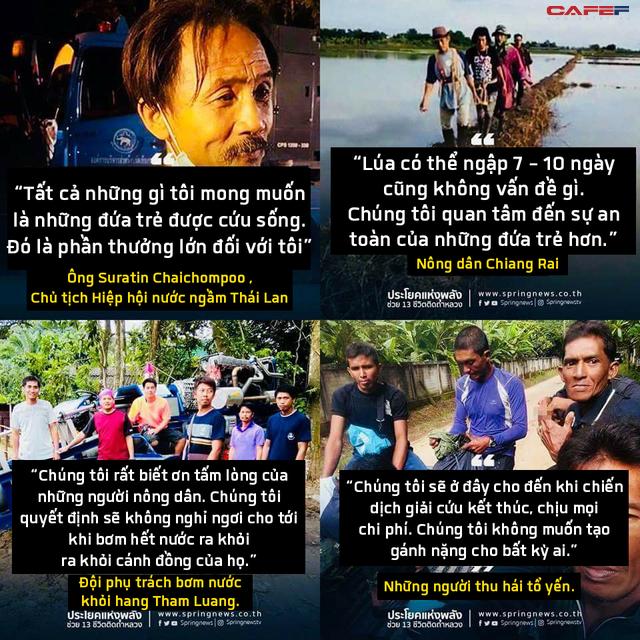 Những người hùng trong chiến dịch giải cứu đội bóng nhí Thái Lan: Lúa hỏng có thể trồng lại được, chúng ta phải cứu những đứa trẻ trước - Ảnh 7.